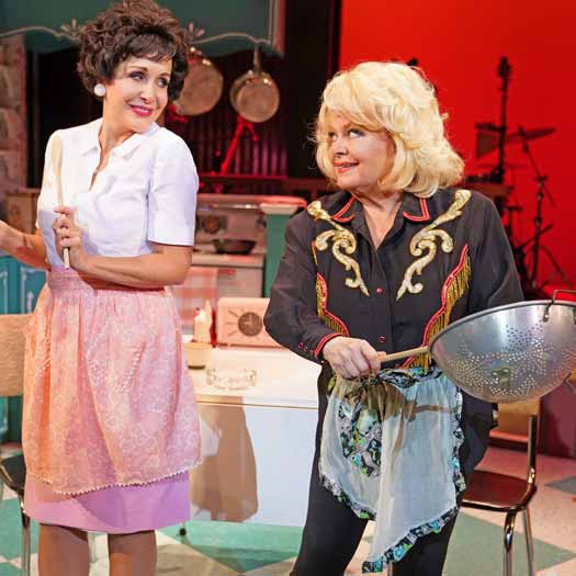 "Carter Calvert and Sally Struthers in ""Always … Patsy Cline"""