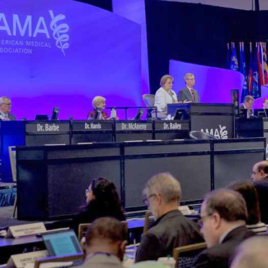 American Medical Association conference file photo