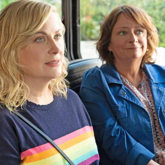 Amy Poehler and Rachel Dratch scene in