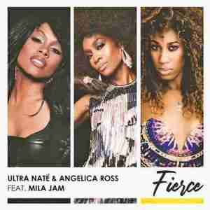 "Angelica Ross ""Fierce"" single cover"