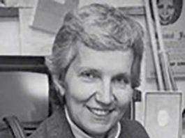 Long time Women's and LGBT activist Ann Baker of Roosevelt, NJ