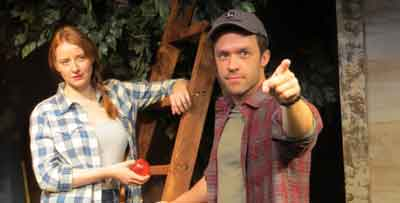 "NJ Repertory Company in Long Branch, NJ presents the world premier of ""Apple Season."""