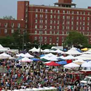 Asbury Park Jersey Pride festival overview in 2012