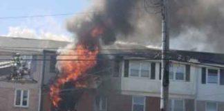 Asbury Park, NJ fire on July 10, 2018