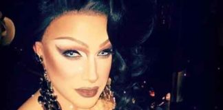 Drag Queen Athena Dion