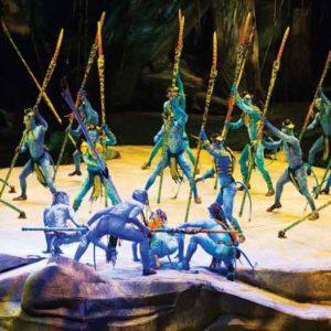 """Toruk"" from Cirque du Soleil"