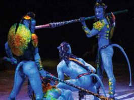Toruk from Cirque du Soleil