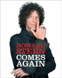 "Book cover of ""Howard Stern Comes Again."""
