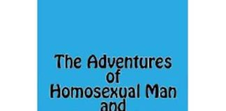 "Plain cover of ""The Adventures of Homosexual Man and Lesbian Lad"""
