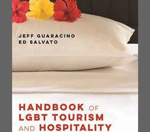 "The book cover of ""Handbook Of LGBT Tourism"""