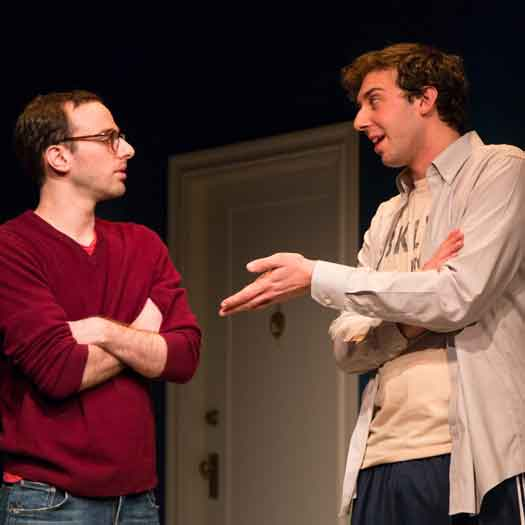 Alec Silberblatt and Amos VanderPoel directed by Jessica Stone at George Street Playhouse in