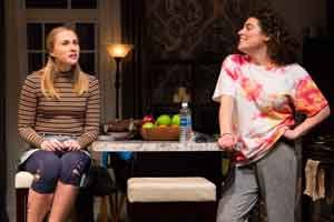 """Bad Jews"" with Maddie Jo Landers and Laura Lapidus is directed by Jessica Stone at George Street Playhouse."