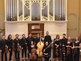Baroque Orchestra performed at the Princeton Festival in 2018