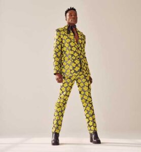 Billy Porter in yellow