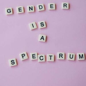 Bisexual gender is a spectrum photo by Laker