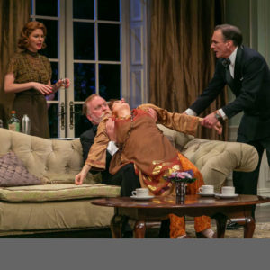 """""""Blithe Spirit"""" at The Shakespeare Theatre of NJ. Photo credit: Jerry Dalia"""