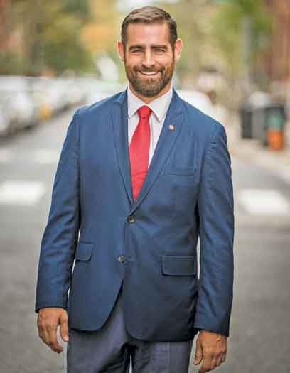 Brian Sims is an openly gay Pennsylvania State Representative
