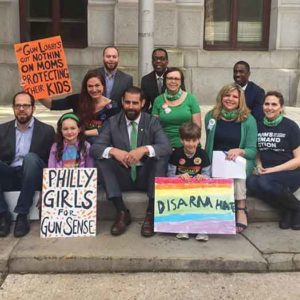 Pennsylvania Representative Brian Sims is active in the LGBT community