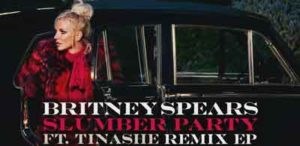 "Britney Spears ""Slumber Party remix"""