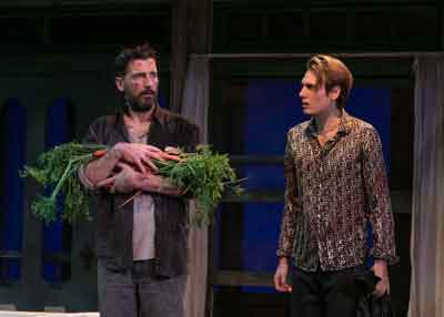 """""""Buried Child"""" by Sam Shepard at The Shakespeare Theatre of NJ. Anthony Marble and Paul Cooper in photo by Jerry Dalia."""