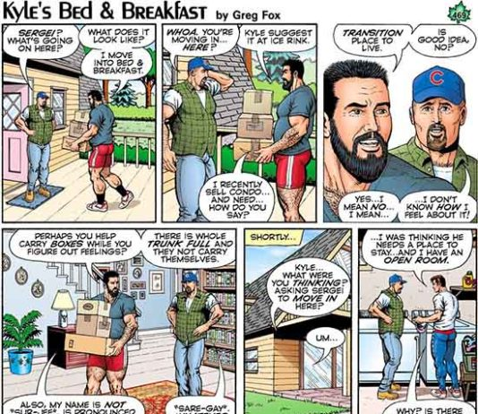 Kyle's Bed and Breakfast by Greg Fox October 2017