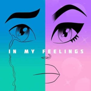 "Aja ""In My Feelings"" CD cover"