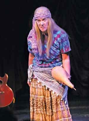 Lisa Koch on stage