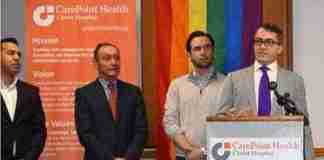 CarePoint and Hudson Pride Center announce LGBT Health initiative