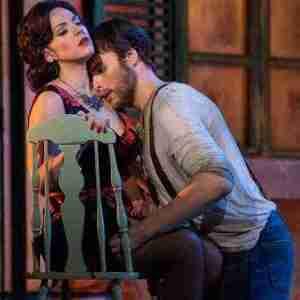 """Carmen"" mezzo-soprano Daniela Mack and tenor Evan LeRoy Johnson"
