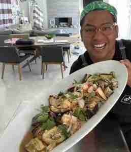 Chef Arnold Myint is now cooking for only two