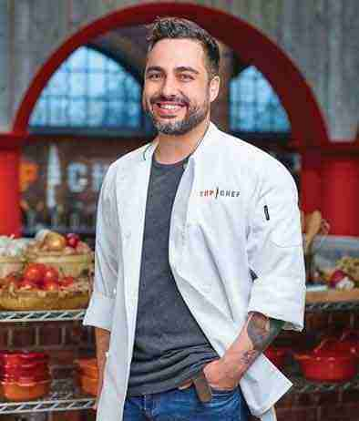 "Chef David Viana talks about the Bravo show ""Top Chef-Kentucky"""