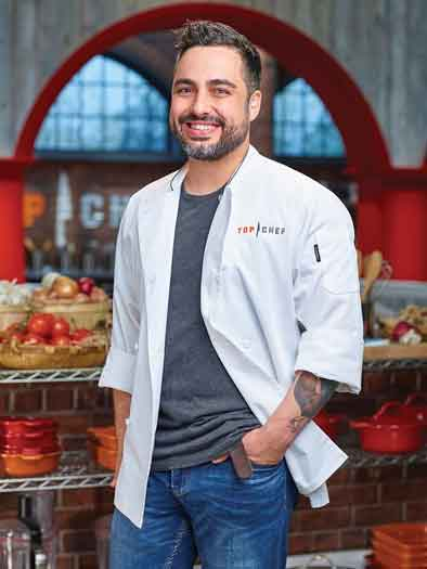 Chef David Viana talks about the Bravo show