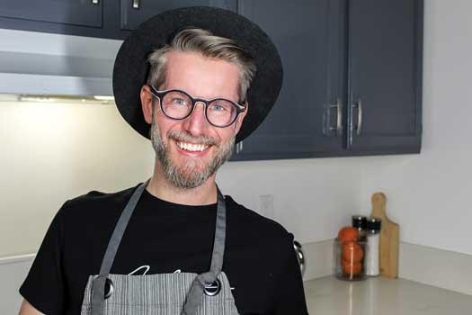 Chris Tucker creates baked goods at Betta With Butta