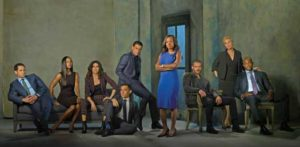 "Conrad Ricamora and the cast of ""How To get Away With Murder"