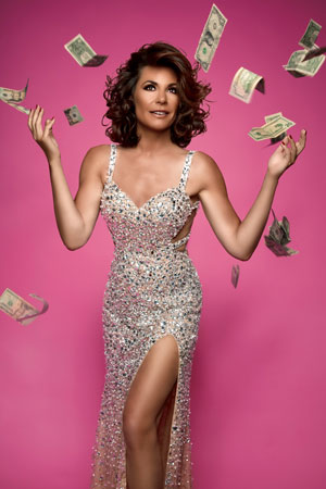 """Housewives of New York City"" star Countess LuAnn De Lesseps"