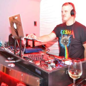 DJ Carl Michaels spins at Vallani