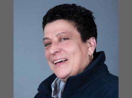 DJ Mimi is Maria Testa in studio portrait