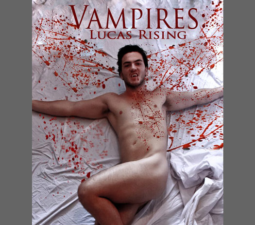 """DVD_cover of """"Vampires: Lucas Rising"""""""