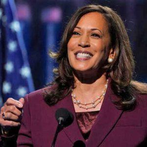 Kamala Harris spoke during the Democratic National Convention 2020