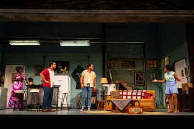 "Scene from ""Detroit '67"" at the McCarter Theatre. Photos by T. Charles Erickson."