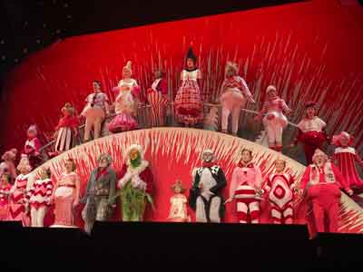 """""""How The Grinch Stole Christmas - The Musical"""" photos by Will Loschiavo"""