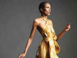Dress designed by New Jersey designer Marco Hall. Photo by Shamayim.