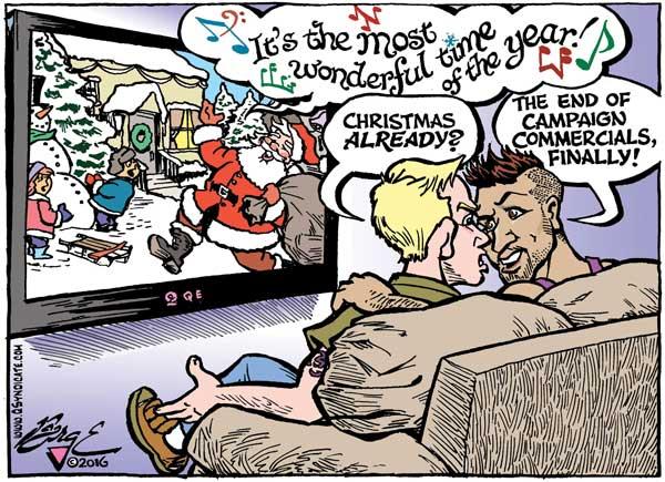 Editorial Cartoon December 2016