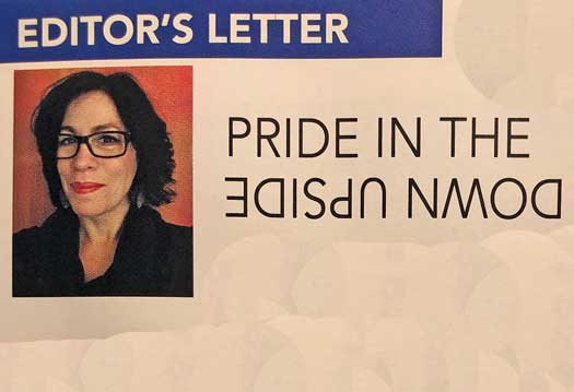 Pride In the upside down Editors letter June 2020