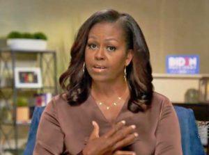 Michelle Obama spoke