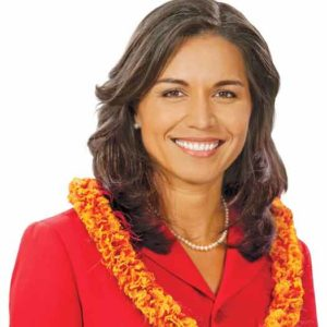 Tulsi Gabbard of Hawaii