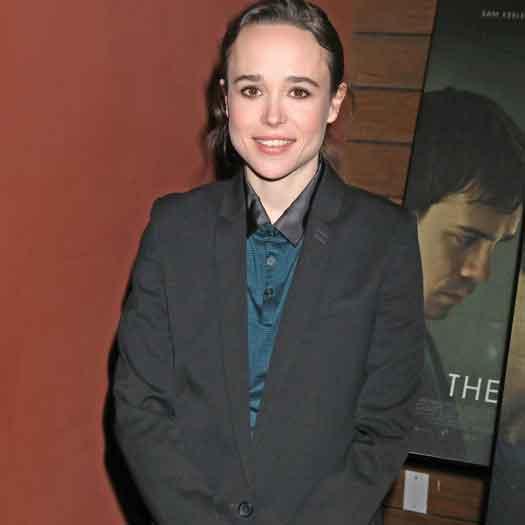 Actor Ellen Page
