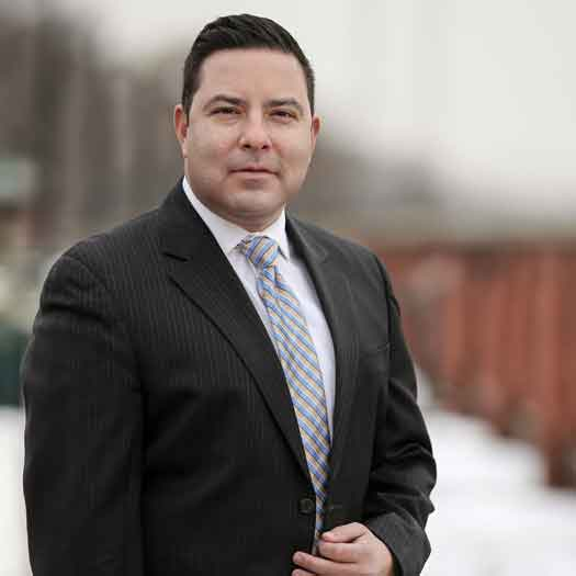 Trenton City Council candidate Elvin Montero