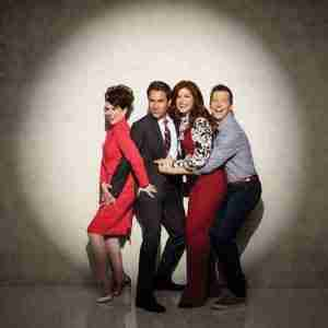 "Eric McCormack with ""Will & Grace"" 2018 cast."