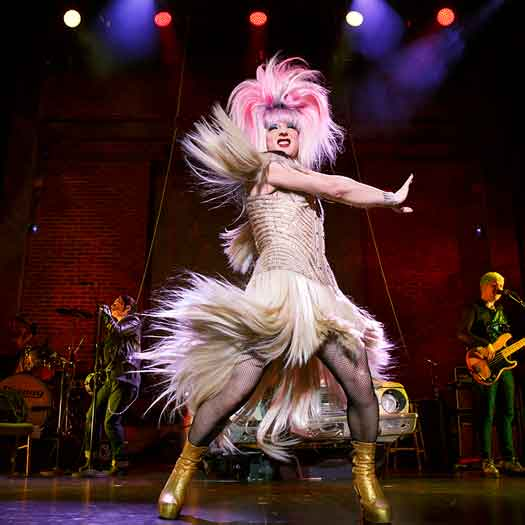 Euan Morton as Hedwig in